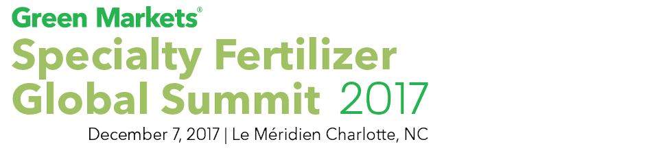 Green Markets Specialty Fertilizer Global Summit 2017