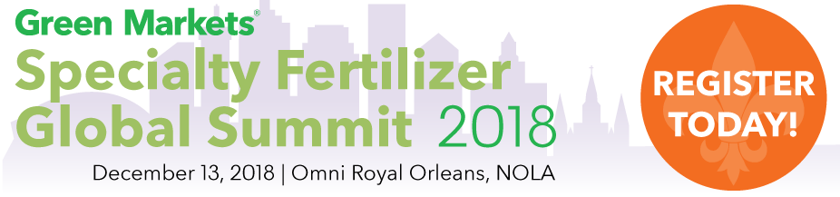Specialty Fertilizer Global Summit 2018