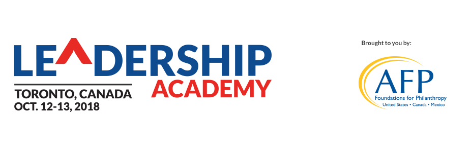 2018 AFP Leadership Academy