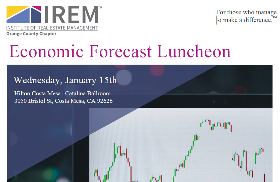 IREM OC's 2020 Economic Forecast