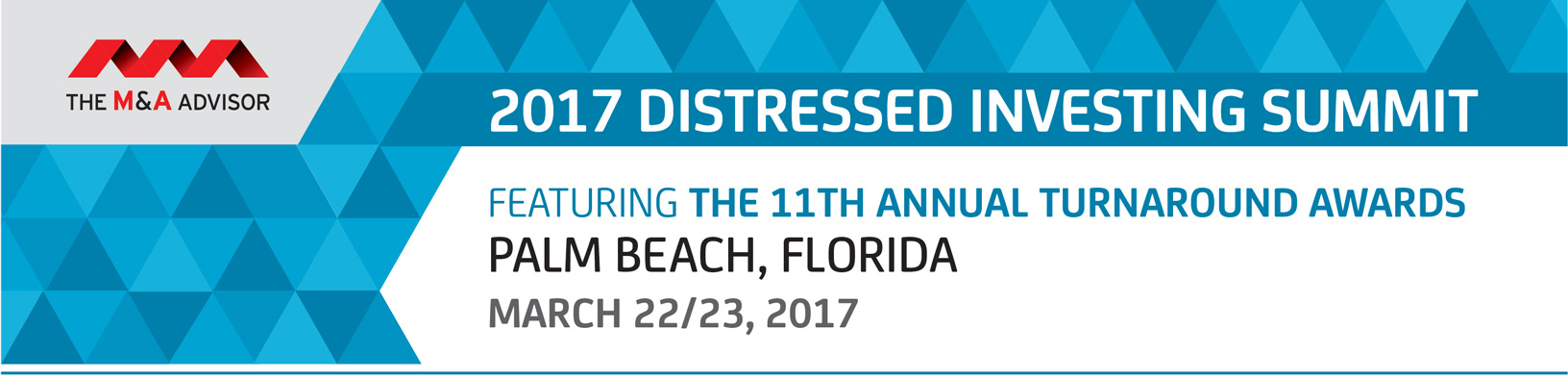 2017 Distressed Investing Summit featuring 11th Annual Turnaround Awards