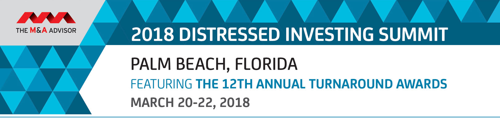 2018 Distressed Investing Summit featuring 12th Annual Turnaround Awards
