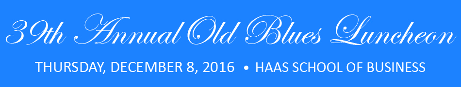 39th Annual Old Blues Luncheon