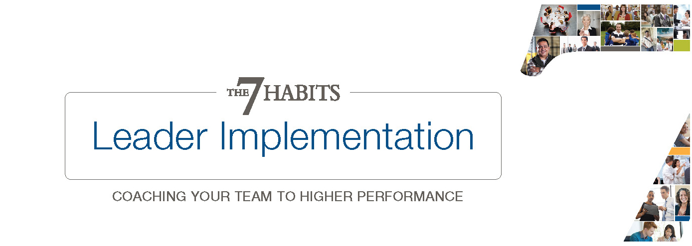 Franklin Covey's 7 Habits Management Series