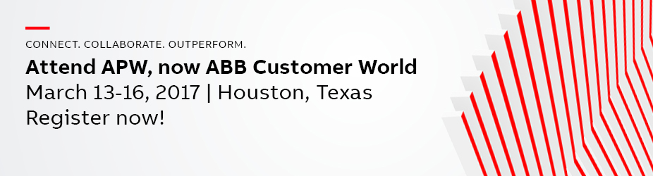 ABB Customer World 2017 - Lead Retrieval Order Site