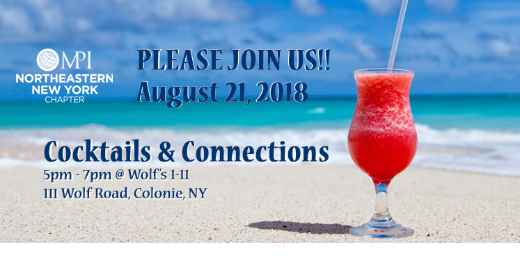 August Cocktails & Connections