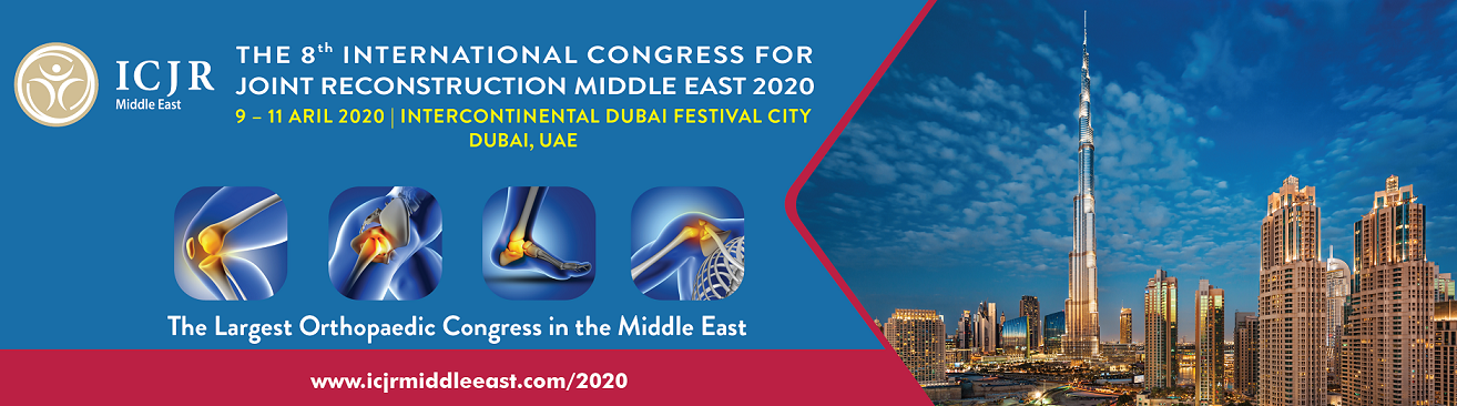 The 8th International Congress for Joint Reconstruction Middle East 2020