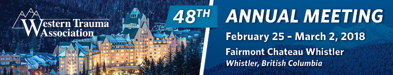 Western Trauma Association 2018 - 48th Annual Meeting