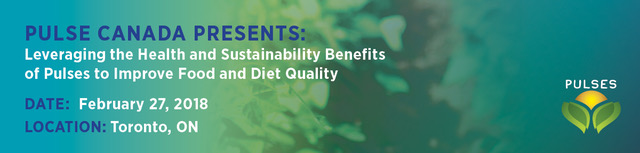 Pulse Canada Presents: Leveraging the Health and Sustainability Benefits of Pulses