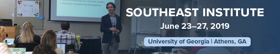 2019 Southeast Institute Registration