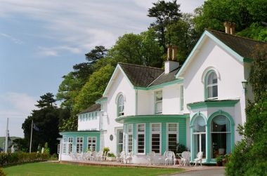 The Hotel Portmeirion lawn