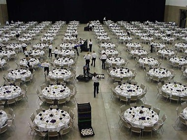 Exhibit Hall - Banquet