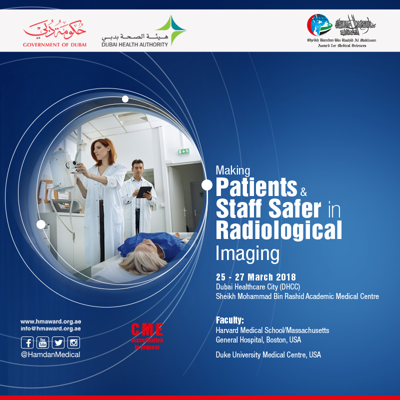 Making Patients and Staff Safer in Radiological Imaging, 25th - 26th March, 2018