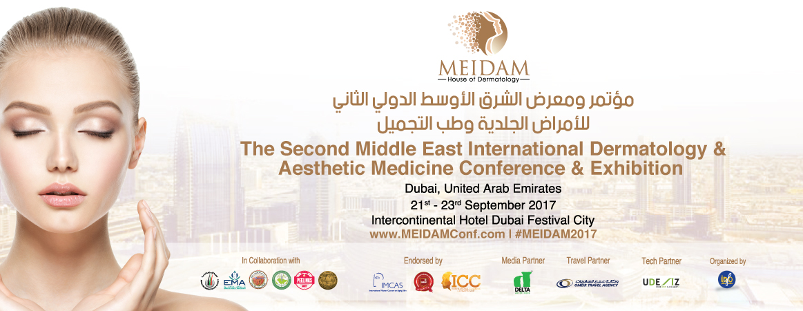 2nd Middle East International Dermatology & Aesthetic Medicine Conference & Exhibition (MEIDAM) The House of Dermatology, 21st - 23rd September, 2017