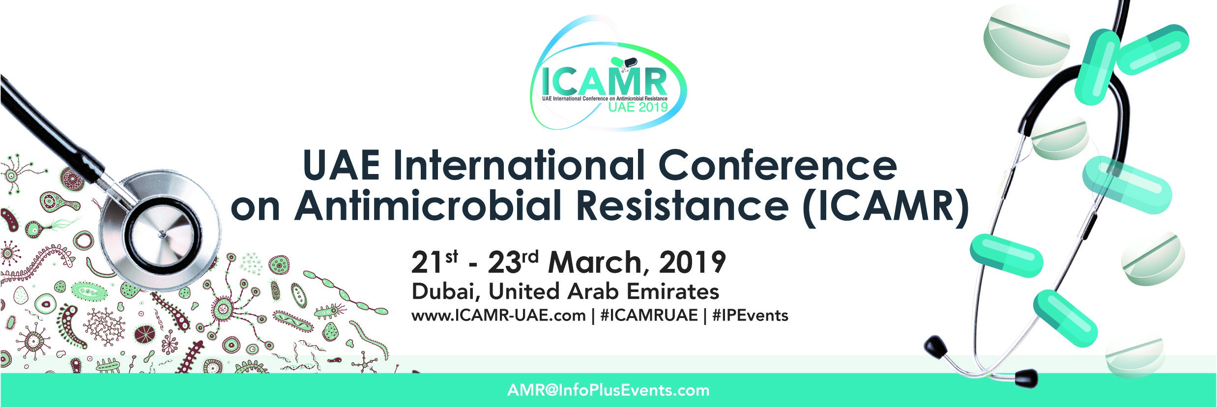 UAE International Conference on Antimicrobial Resistance (ICAMR) 21st & 23rd March,2019