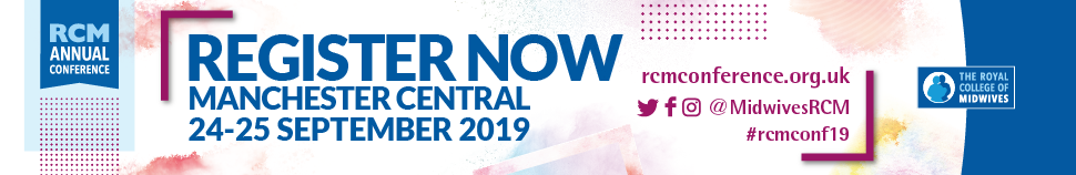 The Royal College of Midwives Annual Conference and Exhibition 2019