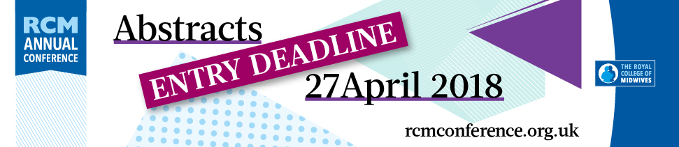 RCM Annual Conference 2018 - Abstracts entry process