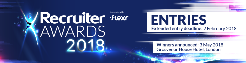 Recruiter Awards 2018 - Entries