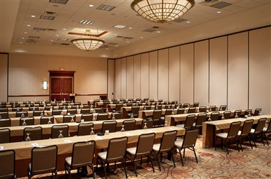 Platinum Ballroom classroom set-up