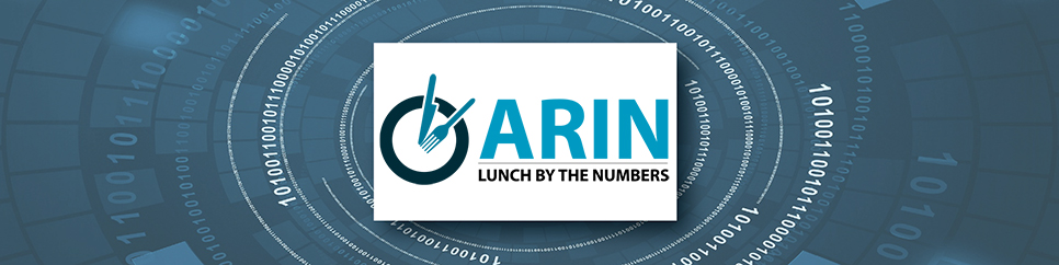 ARIN Lunch by the Numbers: Alexandria