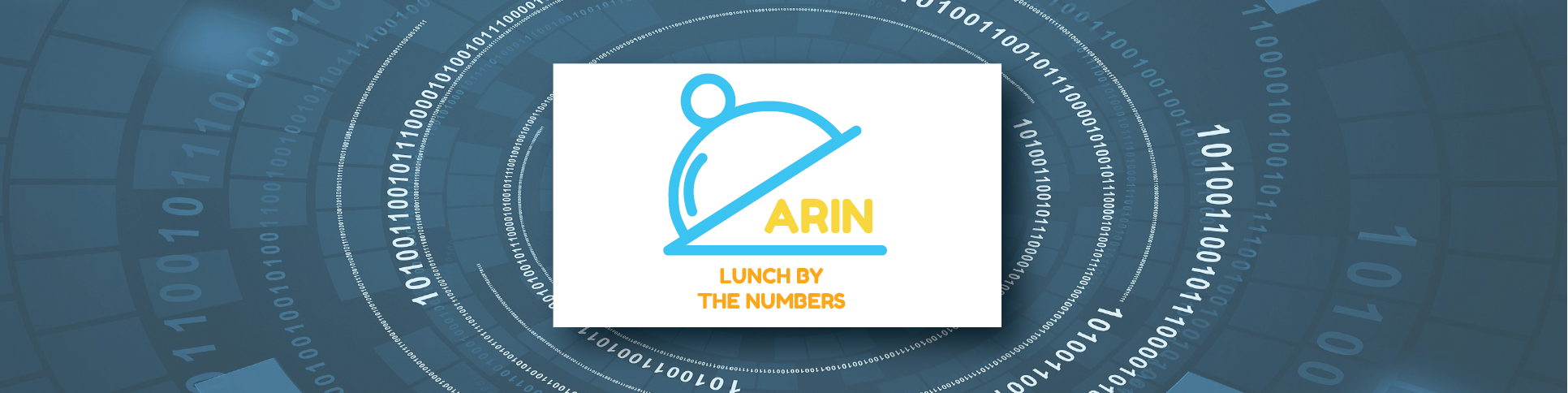 ARIN Lunch By The Numbers [Logo]