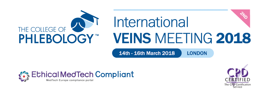 College of Phlebology's 2nd International Veins Meeting