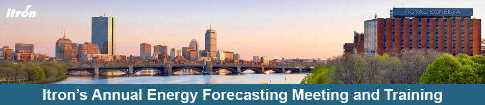 Itron's 17th Annual Energy Forecasting Meeting & Training - 2019
