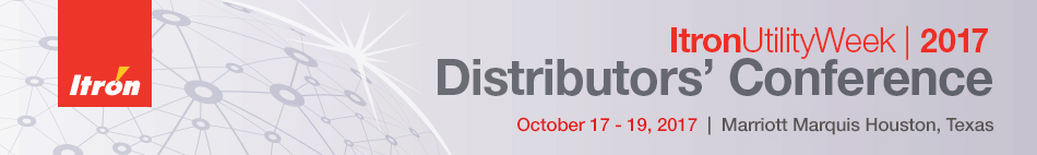 2017 Itron Distributors' Conference