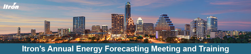 Itron's 16th Annual Energy Forecasting Meeting & Training - 2018