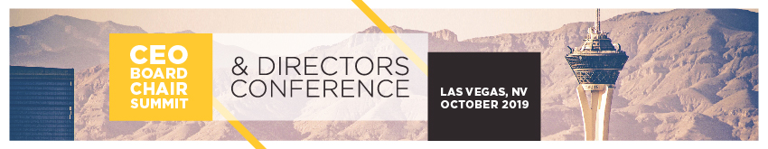 2019 CEO/Board Chair Summit & Directors Conference