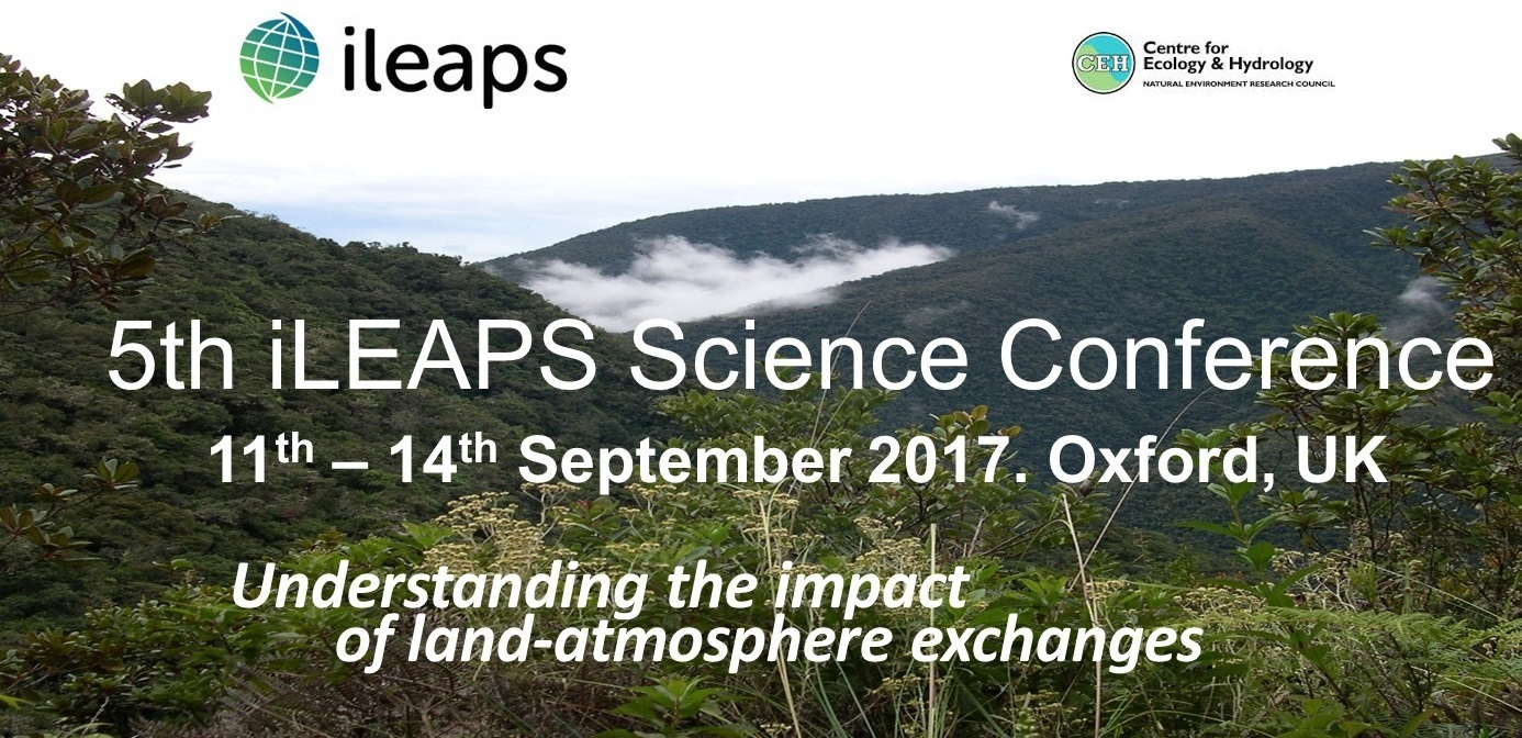 5th iLEAPS Science Conference