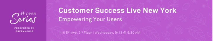 CS Live: NY 9.13 - Empowering Your Users