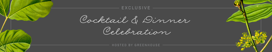 Exclusive Greenhouse Dinner - San Francisco