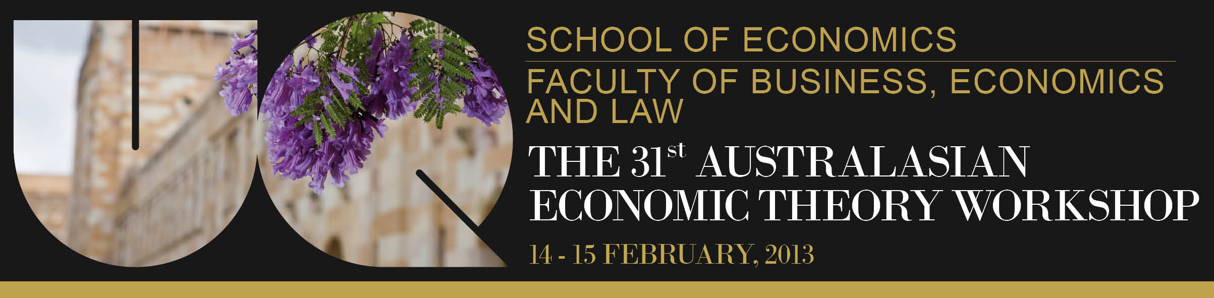 31st Australasian Economic Theory Workshop