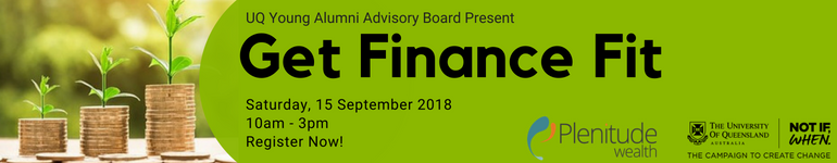 UQ Young Alumni 'Get Finance Fit' Workshop