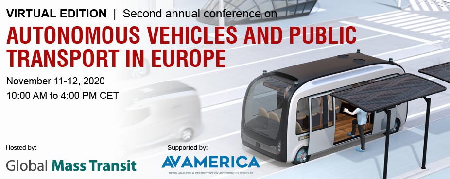 Virtual Edition of Second Conference on Autonomous Vehicles and Public Transport in Europe