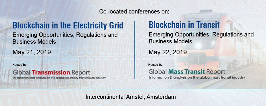 "Conferences on ""Blockchain in Electricity Grid"" and ""Blockchain in Transit"""