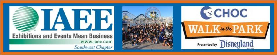 SWIAEE Summer Charity Event:  CHOC Walk in Disneyland