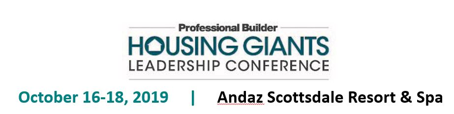 2019  Housing Giants Leadership Conference