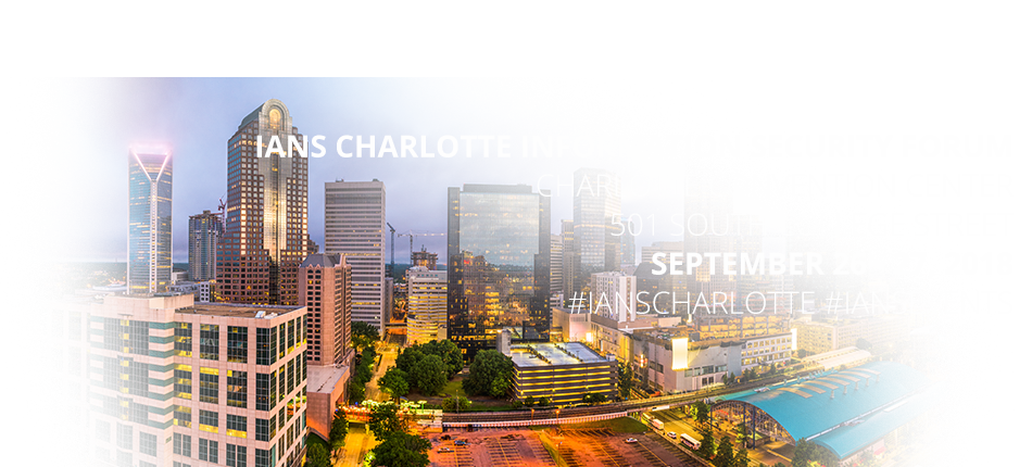 2018 Charlotte Information Security Forum