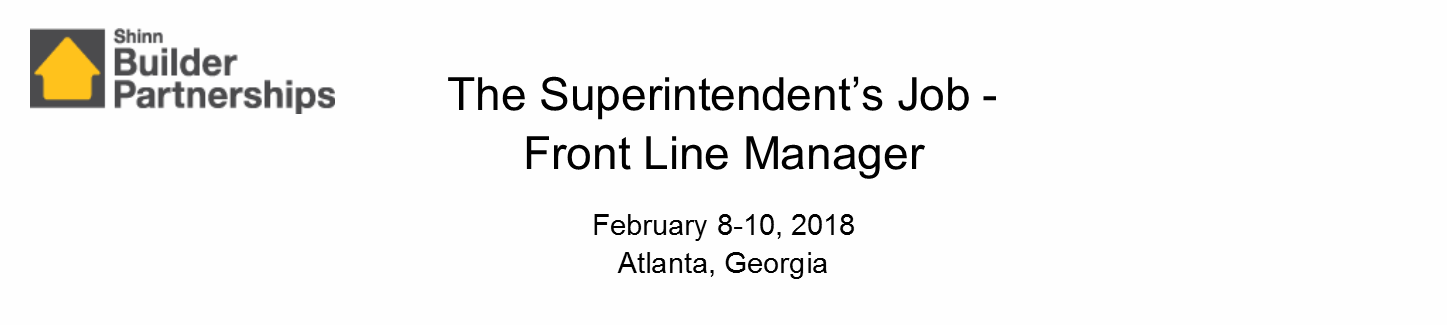 The Superintendent's Job February 2018