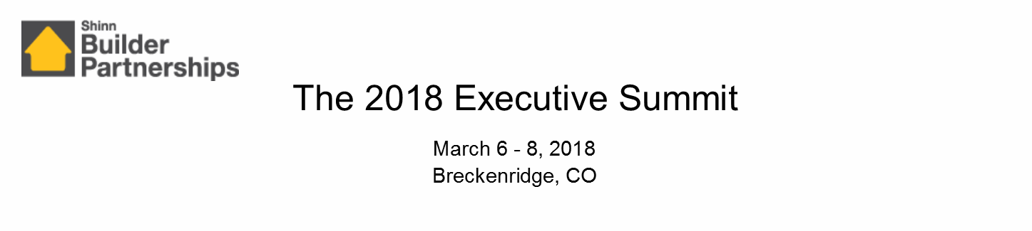 The 2018 Executive Summit