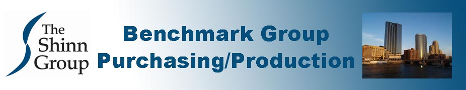 Benchmark Group - Purchasing & Production May 15 - 17