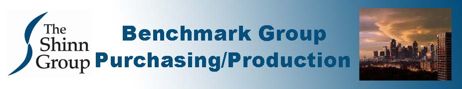 Benchmark Group - Purchasing & Production October 11 - 13, 2017
