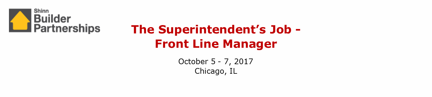 The Superintendent's Job October 2017