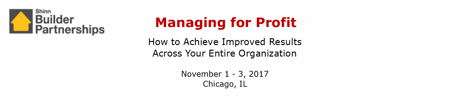 Managing for Profit November 2017