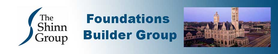 Foundations Builder Group - Nashville April 19 - 20