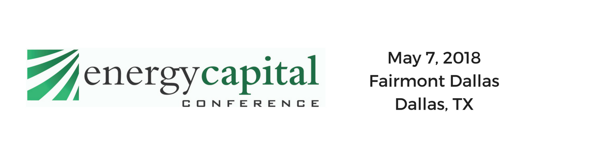 Energy Capital Conference 2018
