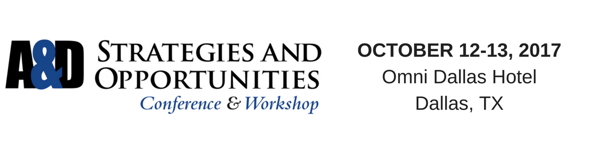 A&D Strategies and Opportunities Conference & Workshop 2017