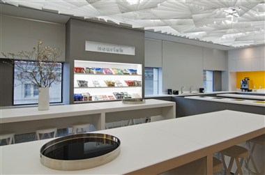 Nourish and snacking area